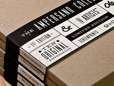 The Ampersand Collection, 10 sérigraphies de 22x22cm. 10 esperluettes originales dessinées par 10 artistes. Tout ça en édition limitée et avec un superbe emballage ! Par 55 Hi's.