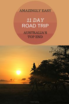 Self drive yourself around Australia's Top End and visit Kakadu, Katherine and Litchfield in this easy 11 day Itinerary. Check out full details at http://www.globalgadding.com