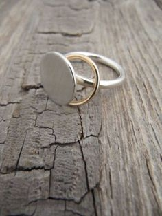 minimalist silver ring~
