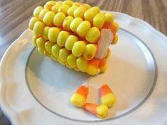 .Candy corn on the cob
