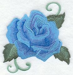 embroidery roses | Machine Embroidery Designs at Embroidery Library! - Radiant Rose