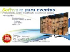 YouTube Software, Sistema Erp, Youtube, Personal Relationship, Access Control, Events, Youtubers, Youtube Movies
