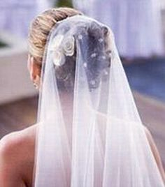 A guide to wedding bridal veils