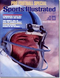 On the Cover: Ken Stabler, Football, Oakland Raiders  Photographed by: Neil Leifer