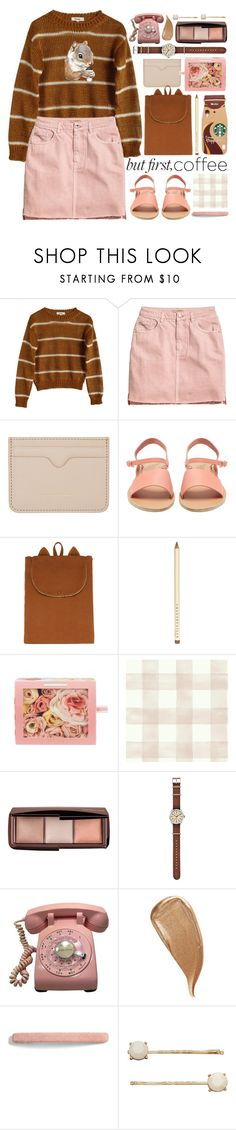 """""""even squirrels like it"""" by foundlostme ❤ liked on Polyvore featuring Samuji, H&M, Alexander McQueen, Ancient Greek Sandals, Emile et Ida, Chantecaille, Hourglass Cosmetics, Timex, Kevyn Aucoin and L. Erickson"""