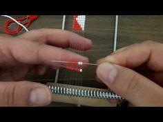 Boncuk Dokuma Tekniği İle Bileklik Yapımı / DIY Bracelets - YouTube