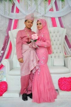 ♥ Malay Wedding Dress, Wedding Dresses, Bridal Fashion, Dress Ideas, Bridal Style, Muslim, Aurora Sleeping Beauty, Disney Princess, Bride Dresses