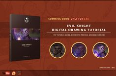 Pre Order Evil Knight | Digital Drawing Tutorial on  Gumroad https://gum.co/JrndW  with special offer!<br /><br />Or you can support me on  Patreon and take it and more in Reward on January<br /><br />You can purchase this product now only for 10$ before it come<br /><br />After it come (07/01/2017) price will be 15$<br /><br />Evil Knight - digital drawing tutorial that include: <br />Full PDF guide with explaining process, tips and tricks that i use when creating this artwork. <br />Also…