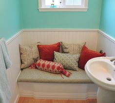 Bathtub Bench Cover! Bathtub Redo, Bathtub Cover, Old Bathtub, Bathtub  Bench,