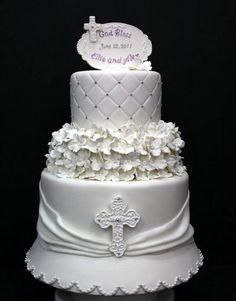 baptism cake1 Baptism Cake