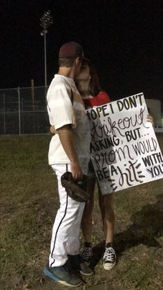 Promposal for baseball - Best Hoco Proposal