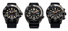 Inspired by old school military issue dive watches.