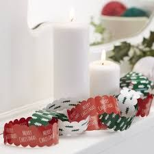 Ten Metres Festive Christmas Paper Chains by Ginger Ray, the perfect gift for Explore more unique gifts in our curated marketplace. Christmas Paper Chains, Meery Christmas, Vintage Christmas, Christmas Things, Grinch Party, Xmas Party, Deco Table Noel, Colored Paper, Xmas Tree