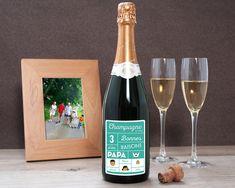 Bouteille de Champagne Les Bonnes Raisons Family circus  Cadeaux personnalisés