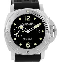 Panerai Luminor Submersible 44mm Mens Watch PAM024 PAM00024