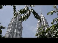"Past beautiful vacation time in Malaysia-Kuala Lumpur. City center and Petronas towers view. -~-~~-~~~-~~-~- Please watch: ""Hongkong trip and travel fly to C. Kuala Lumpur City, Petronas Towers, Filipina, Burj Khalifa, Past, Places To Visit, Vacation, Youtube, Travel"