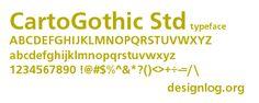 CartoGothic STD(4종)