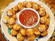 The Savvy Kitchen: Pepperoni Pizza Puffs