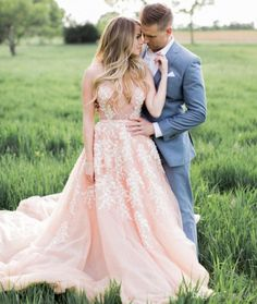 Sexy Blush Pink Wedding Dresses 2017 White Lace Appliques Charming Deep V Neck See Through Top Bridal Dresses Backless Sheer Bridal Gowns Strapless Wedding Dresses Summer Wedding Dresses From Faithfully, $190.96| Dhgate.Com