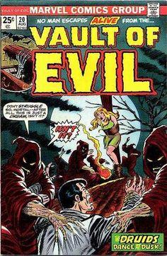 Vault of Evil Comic Books for Sale. Buy old Vault of Evil Comic ...