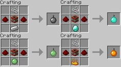 how to make items in minecraft | Minecraft Item Ideas - Bombs by ~RedPanda7 on deviantART