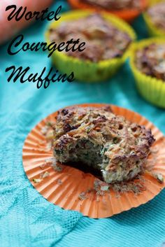 Courgette Wortel Muffins | De Bakparade