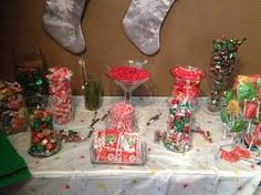 We love Candy Buffets, especially ones with a Christmas Theme! What better way to celebrate the holidays than with a sweet treat!