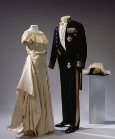 Court Dress for the Swedish Court, 1930.