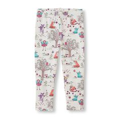 Woodland Print Leggings - Full Length