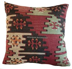 cojines kilim hecho a mano