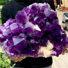 Minerals, Amethyst, Texture, Crystals, Crafts, Etsy, Vintage, Surface Finish, Manualidades