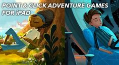 Top 10 Point & Click Adventure Games for iPad