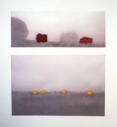 "Saatchi Art Artist Mónica Leitão Mota; New Media, ""Ghostly trees series I - Limited Edition 1 of 1"" #art"