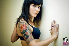 Half sleeve for girls tattoo