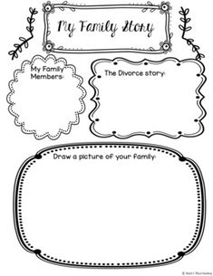 My Family Story; Divorce student workbook, Changing Famili