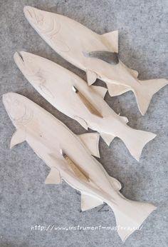 Fish Wood Carving, Bone Carving, Cool Wood Projects, Wood Fish, Fish Drawings, Wood Carving Patterns, Wooden Cat, Wood Sculpture, Sculpture Ideas