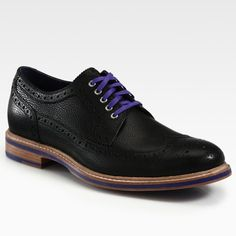 Cooper Square Wingtip by Cole Haan with beautiful laces.