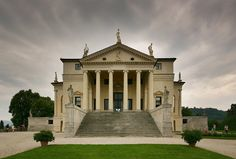 "Architect Andrea Palladio, Along with other works by Palladio, the building is conserved as part of the World Heritage Site ""City of Vicenza and the Palladian Villas of the Veneto"".""Perhaps the art of architecture has never reached such a height,"""