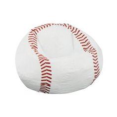 Baseball beanbag perfect for reading corner