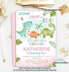Discover recipes, home ideas, style inspiration and other ideas to try. Dinasour Birthday, Dinosaur First Birthday, 3rd Birthday Parties, Paris Birthday, Elmo Birthday, Birthday Ideas, Dinosaur Birthday Invitations, First Birthdays, Elmo Party