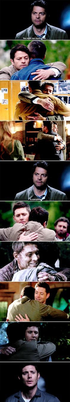 """""""You know this world–this sad little doomed world, it needs you"""" #spn #destiel"""