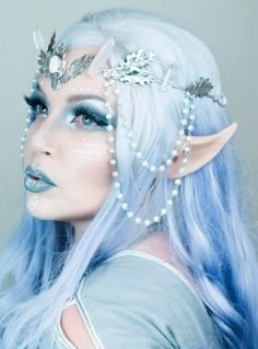 10 Spooky Makeup Looks for the Halloween Fanatic Makeup Fx, Cosplay Makeup, Drugstore Makeup, Mode Inspiration, Makeup Inspiration, Fantasy Make Up, Elfa, Halloween Makeup Looks, Halloween 5