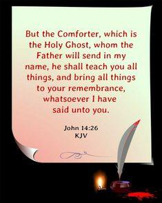 John 14:26 KJV