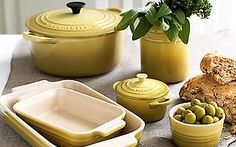 Creating home through food made more beautiful with Le Creuset. Le Creuset Colors, Le Creuset Cookware, Dutch Oven Recipes, Dinner Themes, Kitchen Items, Kitchen Stuff, Mellow Yellow, Dishes, Recipes