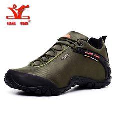 XIANGGUAN Man Hiking Shoes for Men Athletic Trekking Boots Zapatillas Sports Climbing Shoe Outdoor Walking Sneskers36-48