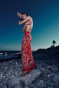 Constance Jablonski by Nagi Sakai for Harper's Bazaar Spain May 2015
