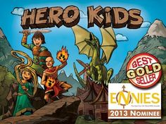I caught up with Justin Halliday of Hero Forge Games. Hero Forge Games' role-playing game for kids, Hero Kids, was released last October and is up for a Best Family Game ENnie. Since then Justin has released seven adventures, as well as extra hero characters and an equipment pack.