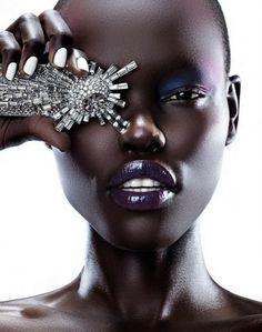 FIERCE FACTOR: African Model Grace Bol