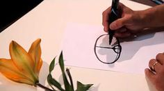 How to draw plants - Easy Perspective Drawing 19 - YouTube