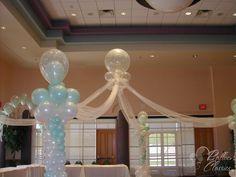 Fantasy Cloud Balloon for Dance Floor Decoration Cake Table Decorations, Balloon Decorations, Wedding Decorations, Balloon Dance, Balloon Clouds, Floating Balloons, Floor Decor, Unique Weddings, Canopy